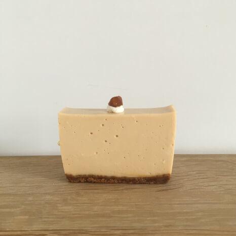 キャラメルのレアチーズ