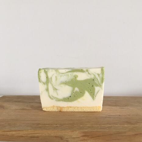 抹茶のレアチーズ